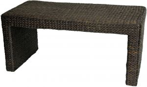 NES Furniture abc10166 Stafford Trunk-Style Coffee Table Fine Handcrafted Solid Teak Wood 32 inches Natural