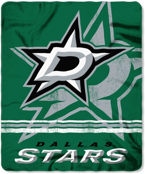 cheaper ce7f5 f26f1 The Northwest Company Officially Licensed NHL Dallas Stars Fade Away  Printed Fleece Throw Blanket, 50