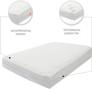 Bed Bug Mattress Cover.Mattress Or Box Spring Protector Covers Bed Bug Proof Water Proof