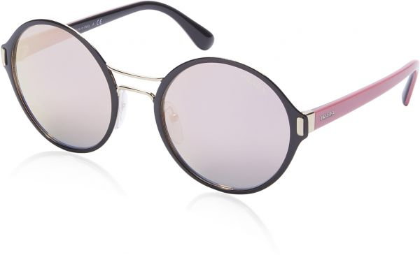 a68bb6e6f2 Prada Round Women s Sunglasses - 57TS AAV 5L2 -54 -22 -140 mm