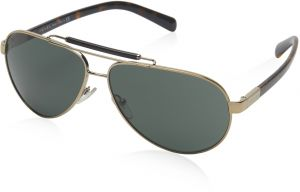 1c224fb29019 Prada Aviator Men s Sunglasses - 54NS ZVN 3O1 -61 -12 -135 mm