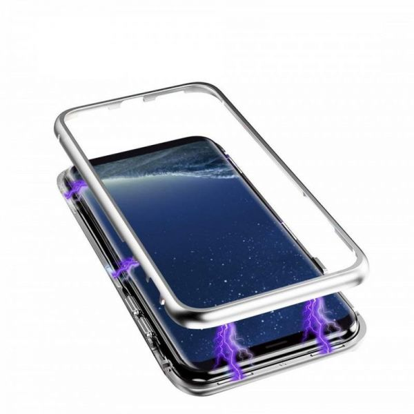 hot sale online 8b1f2 79db8 SAMSUNG GALAXY NOTE 9 Magnetic ADSORPTION TEMPERED GLASS CASE