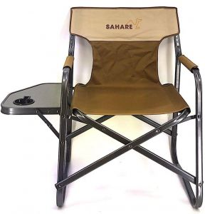 Awe Inspiring Buy Kamp Rite Directors Chair With Side Table Sahare Dailytribune Chair Design For Home Dailytribuneorg