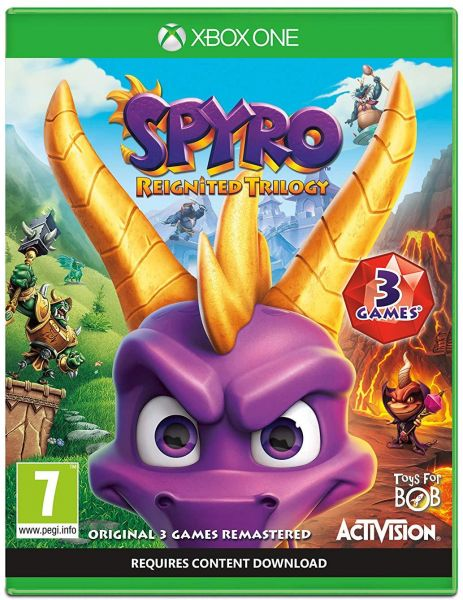 Spyro Trilogy Reignited Xbox One by Activision