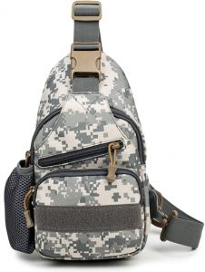Outdoor Casual Large Capacity Fashion Wear-Resistant Chest Bag For Men 9b6617a7d0041