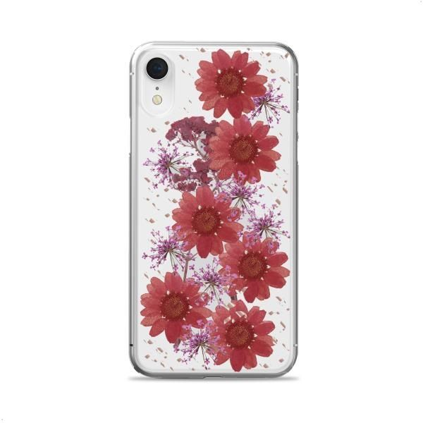 best sneakers c0fb6 7dba9 Puro Real Flower Case for Iphone XR, Red - IPCX61HIPPIEC3RED