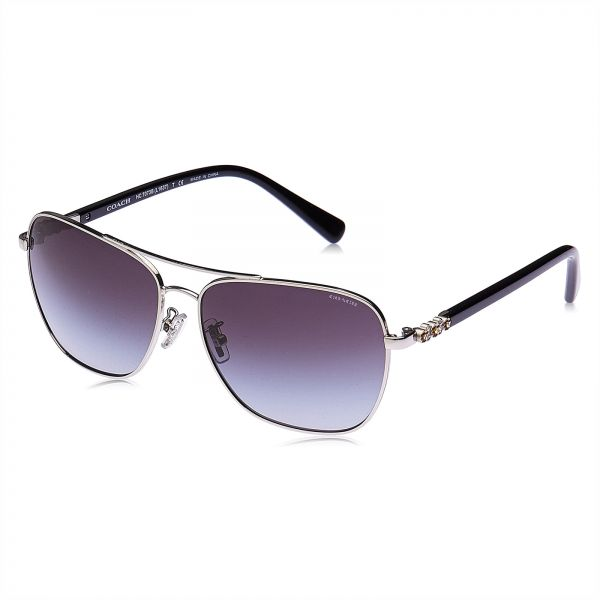 cf3c4aee1e Coach Aviator Sunglasses for Women - Lilac Lens