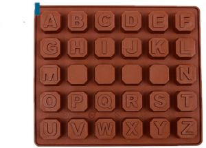 26 English Letters Number Silicone Mold Alphabet Fondant Cake Decorating Tools Chocolate Cupcake Mould Kitchen Accessories Baking Cooking Supplies
