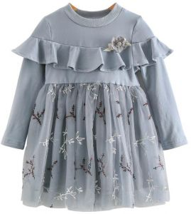 0e08f3437ee Princess girl autumn high quality lace dress for 3-5 years old