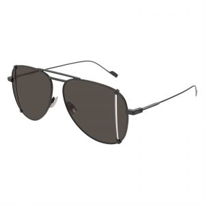 5539225316 Saint Laurent Aviator Sunglasses for Women - Grey Lens