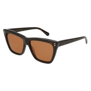 b80923bd3a Stella McCartney Cat Eye Sunglasses for Women - Brown Lens