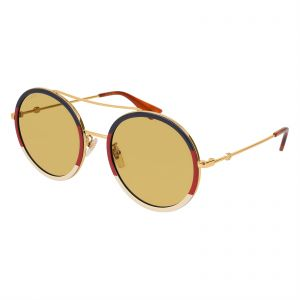 4f5b39a708 Gucci Round Sunglasses for Women - Yellow Lens