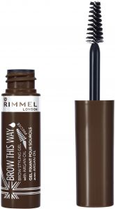 530b4f989d4 Rimmel London Brow This Way Eyebrow Gel with Argan Oil - Dark Brown