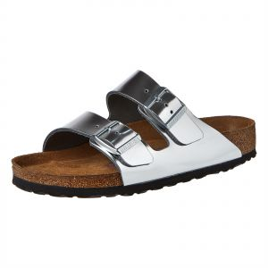fd5e06211cc Birkenstock Arizona Leather Sandal For Women - Silver