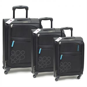8db5030b2 Kamiliant by American Tourister Kam Gaho Spinner Luggage Trolley, Set of 3  Pieces - Black