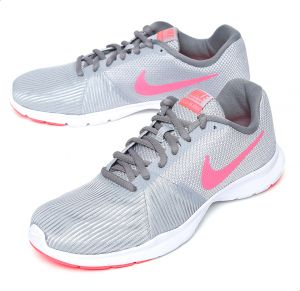 buy online 26f77 69cc1 Nike Flex Bijoux Training Shoes For Women - Light Grey   Pink