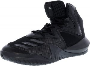 2e76cf101a3 adidas Men s Crazy Team 2017 Solid Grey   Core Black Footwear White High-Top  Basketball Shoe - 9M