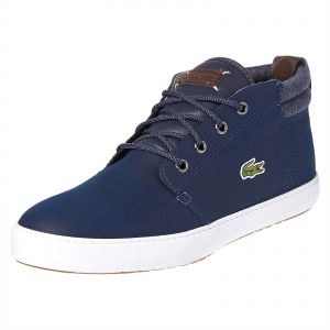 d20f5a96a1e47 Lacoste Navy   White Fashion Sneakers For Men