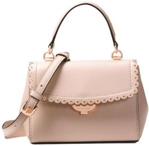 649fa2d50ef41d MICHaEL KORS ava Extra-Small Scalloped Leather Crossbody - Soft Pink