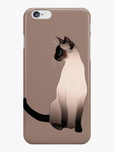 size 40 2f027 91ecd Seal Point Siamese Cat Phone Case (Matte) for Apple Iphone 6/6s