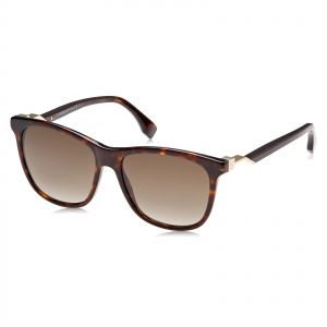 21a248242271 Fendi Wayfarer Sunglasses for Women - Brown Lens