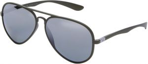 8f43dc63c2 Ray-Ban Unisex Aviator Metal Sunglasses - RB4180 882 82 58