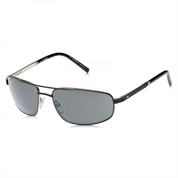 0ae49ce06a2 Mont Blanc Rectangle Men s Sunglasses - MB650S S 02A - 60-17-130 mm