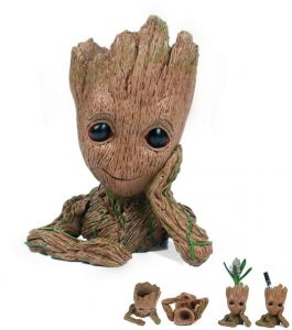 5828dcf83c30 Multifunction Movie Baby Groot Planter Pen Container Guardians of the Galaxy  Tree Man Flowerpot with Whole action Figures model Toy