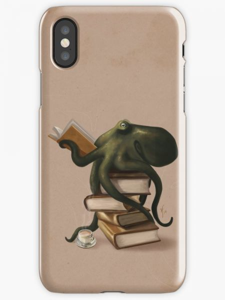 Well-Read Octopus Phone Case for Iphone X