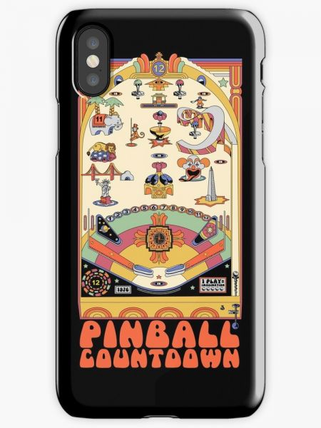 Pinball Countdown Phone Case for iPhone X