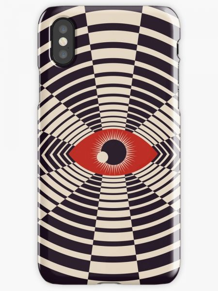 The All Gawking Eye Phone Case for iPhone X