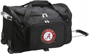 a052ccd6723f NCAA Alabama Crimson Tide Wheeled Duffle Bag