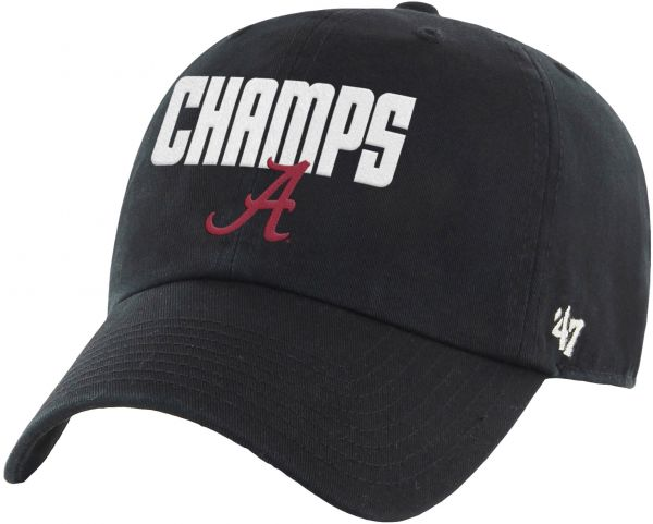 more photos 06125 056d6 ... new zealand ncaa alabama crimson tide 2015 national champions clean up  adjustable hat one size black