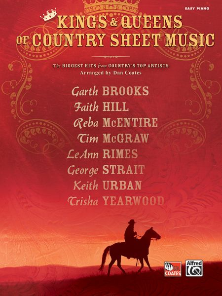 kings queens of country sheet music the biggest hits from countrys top artists easy piano