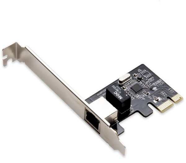 IO Crest 1 Port Ethernet PCIe X1 LAN Card Components Other SI-PEX24038