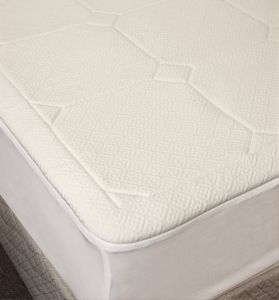 Rio Home Fashions 1 2 Inch Quilted Memory Foam Dust Mite And Allergen Resistant Mattress Pad Full