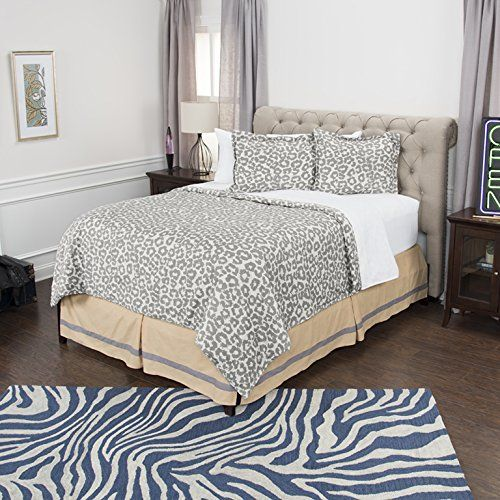 Rizzy Home Andrew Charles Collection 3 Piece Cotton Comforter Animal