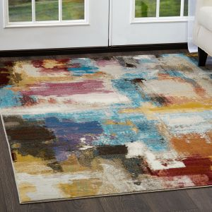 Buy Red Blue Area Rug Momeni Rugs Home Dynamix The Red Carpet