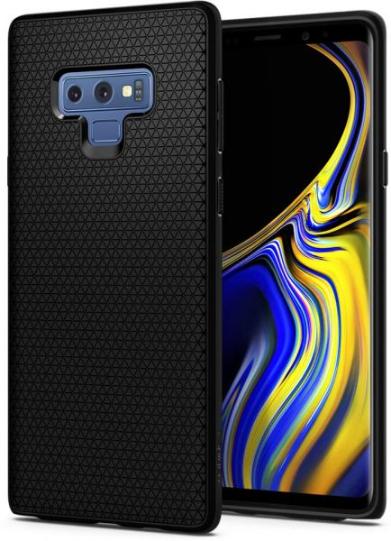3392e657b2e Spigen Liquid Air Armor Galaxy Note 9 Case with Durable Flex and Easy Grip  Design for Samsung Galaxy Note 9 (2018) - Matte Black