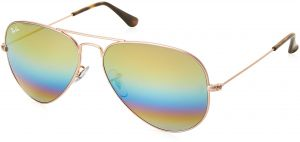 80ee94b929 Ray-Ban Unisex-Adult Aviator Large Metal Non-Polarized Aviator Sunglasses