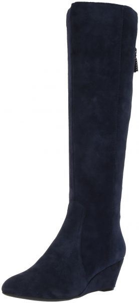 e2a616d1b66b Anne Klein AK Sport Women s Azriel Suede Knee High Boot