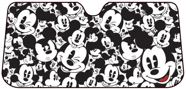 Plasticolor 003689R01 Mickey Mouse Expressions Windshield Sunshade ... f9152c59fff