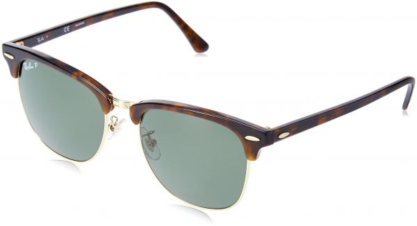 f3556f72a2 Ray-Ban CLUBMASTER - SPOTTED BROWN HAVANA Frame BROWN Lenses 51mm Non- Polarized