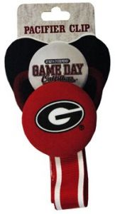 the latest 25e18 04834 Game Day Outfitters NCAA Georgia Bulldogs Infant Pacifier Clip, One Size,  Multicolor