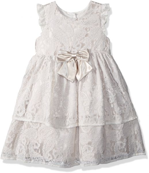 7f763ec64 Laura Ashley London Little Girls  Holiday Lace Party Dress