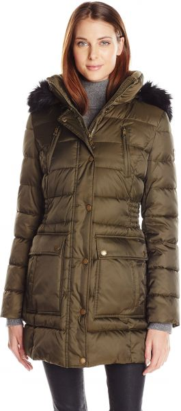 0acf8636c6d Halifax Traders Women s Puffer Coat with Front Pockets