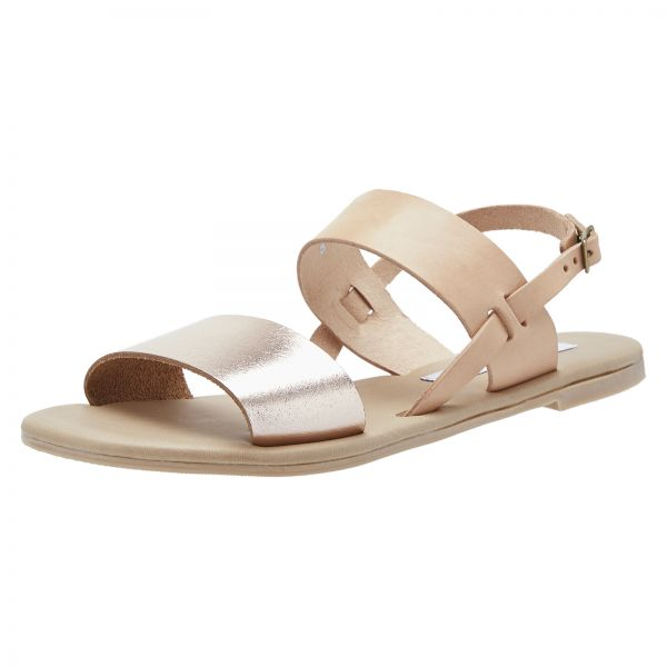 d83938d45c06 Steve Madden Flat Sandals for Women - Rose Gold