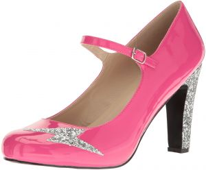 ebb399c8860 Pleaser Pink Label Women s Queen02 Hp-Sg Dress Pump