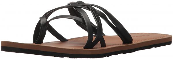 d26f784840f1 Volcom Women s Happy Multi Strap Fashion Flat Sandal