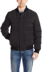 bc3345742f57 Bass GH Men s Quilted Microtwill Flight Bomber Jacket